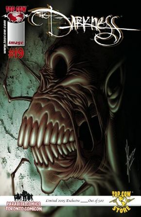 The Darkness #19 (2005) Toronto Comicon Keown Variant Ltd 500 Top Cow comic book